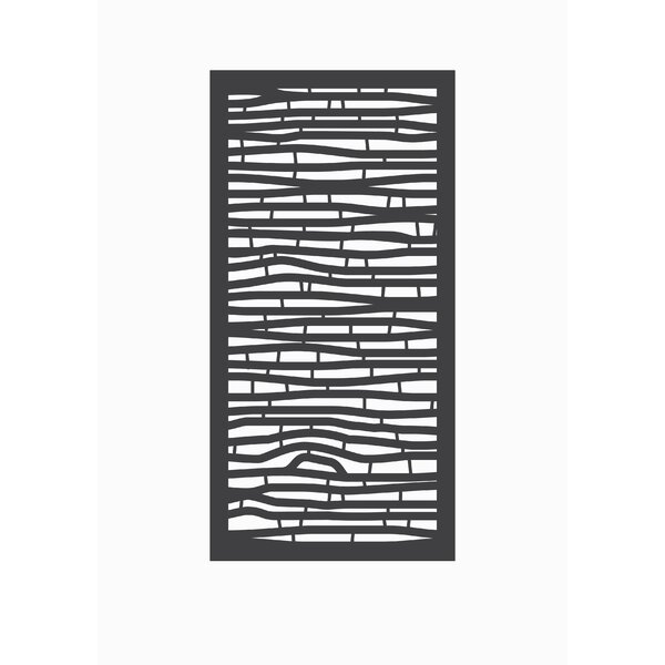 4 ft. H x 2 ft. W Bungalow Fence Panel by OUTDECO