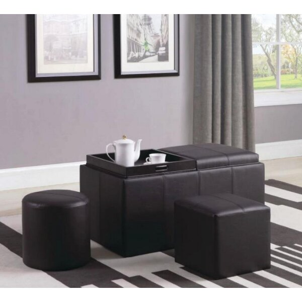 Pricilla 3 Piece Storage Ottoman Set By Latitude Run Modern