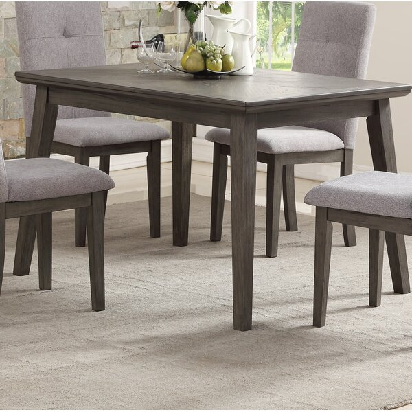 Kenna Dining Table by Gracie Oaks