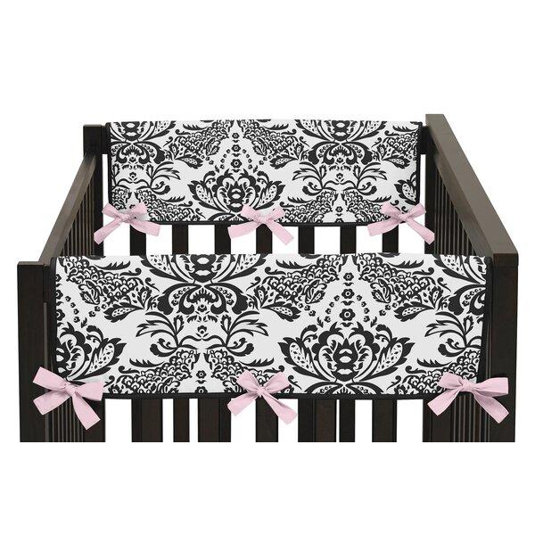 Sophia Side Crib Rail Guard Cover (Set of 2) by Sweet Jojo Designs