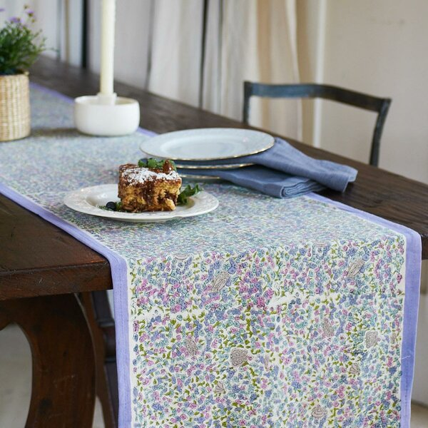 Lavender Table Runner by Couleur Nature