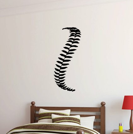 Patrice Baseball Laces Wall Decal by Zoomie Kids