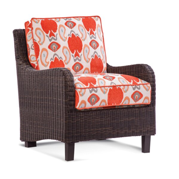 Tangier Patio Chair with Cushions by Braxton Culler
