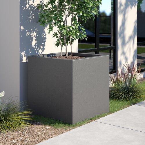 West Branch Fiberglass Planter Box Zipcode Design Size: Larg