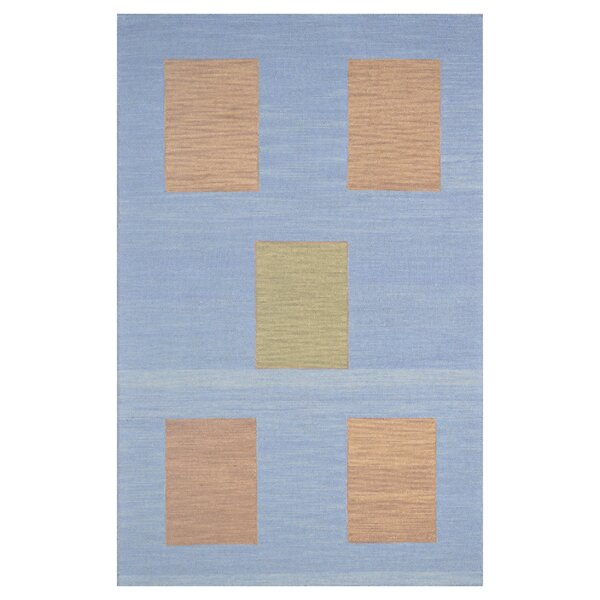 Wool Hand-Tufted Blue/Yellow Area Rug by Eastern Weavers
