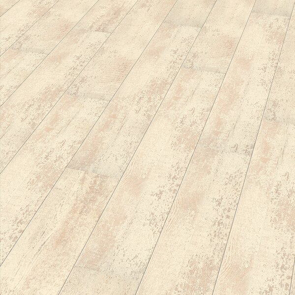 7 x 47 x 8mm Laminate Flooring in Beige by ELESGO Floor USA