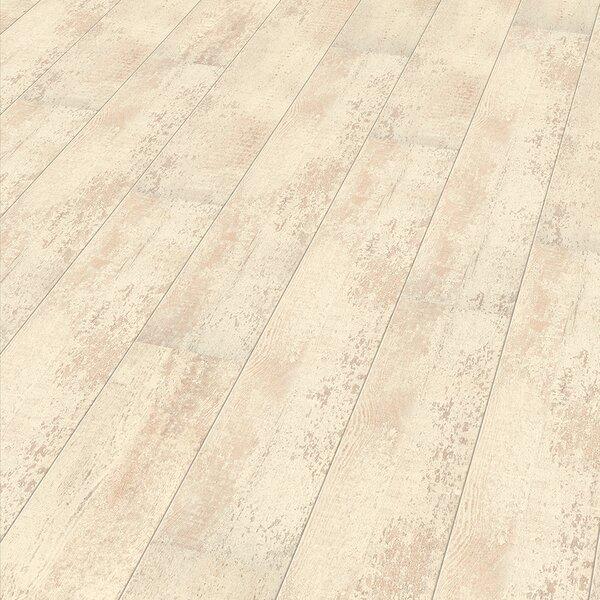 7 x 47 x 8mm Laminate Flooring in Beige by ELESGO Floor USA