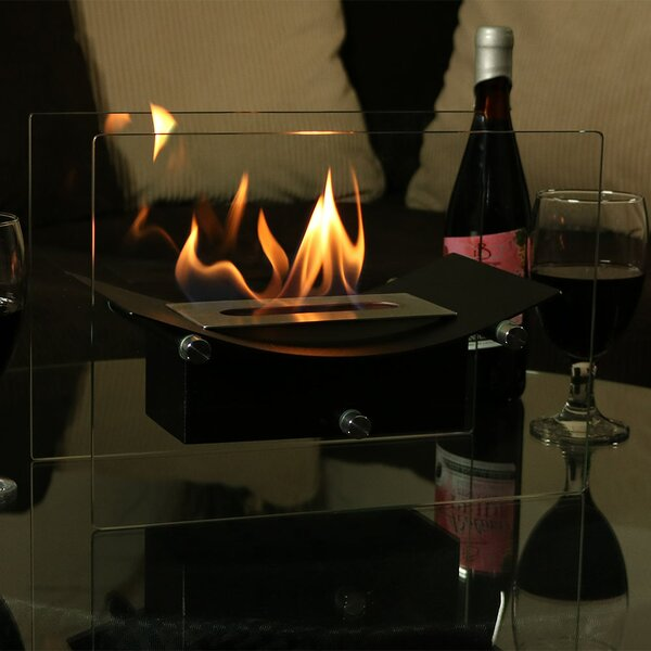 Slade Ventless Bio-Ethanol Tabletop Fireplace by Orren Ellis