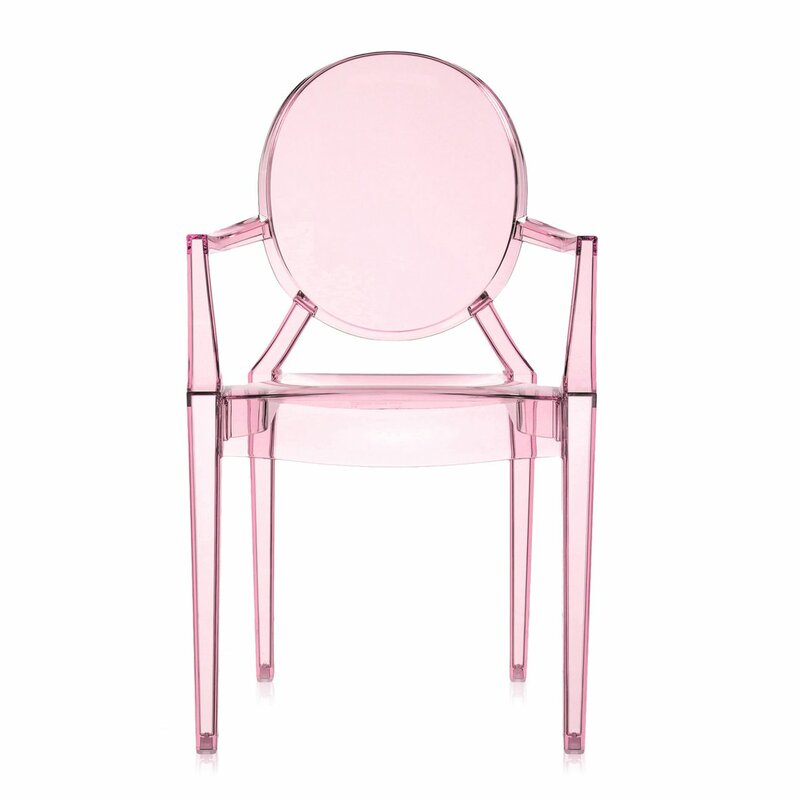 Incredible Lou Lou Ghost Kids Chair Dailytribune Chair Design For Home Dailytribuneorg
