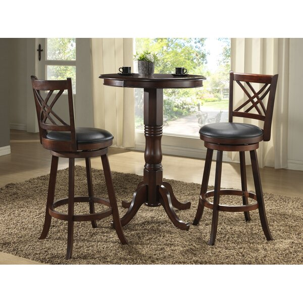 Clarno 29 Swivel Bar Stool (Set of 2) by Loon Peak