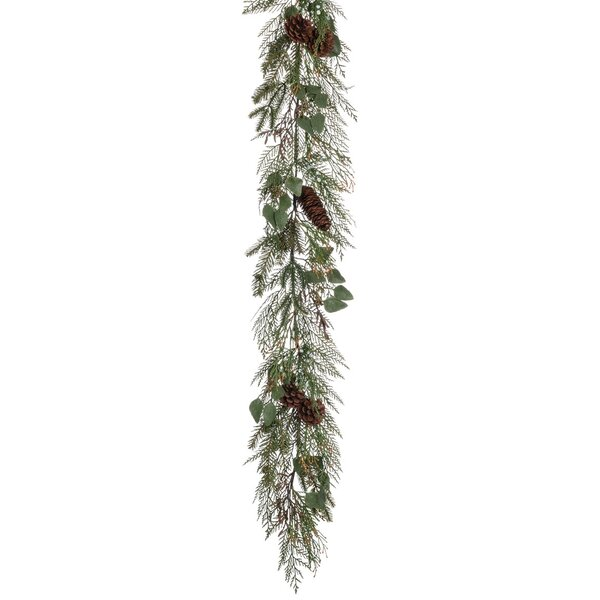 Cedar, Juniper, and Eucalyptus Garland by The Holiday Aisle