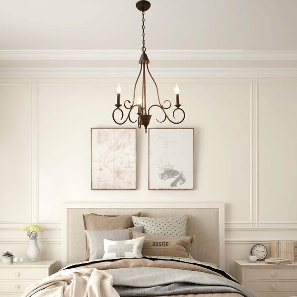 Cherrelle 3 - Light Candle Style Classic Chandelier By Winston Porter