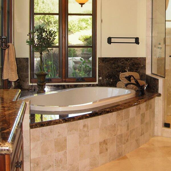 Designer Savannah 77 x 44 Soaking Bathtub by Hydro Systems
