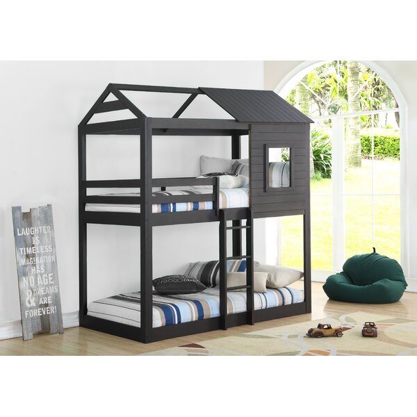 Beebe Twin Over Twin Bunk Bed By Birch Lane™ Heritage Cool