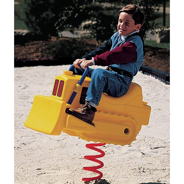 Bulldozer Spring Rider by Little Tikes Commercial
