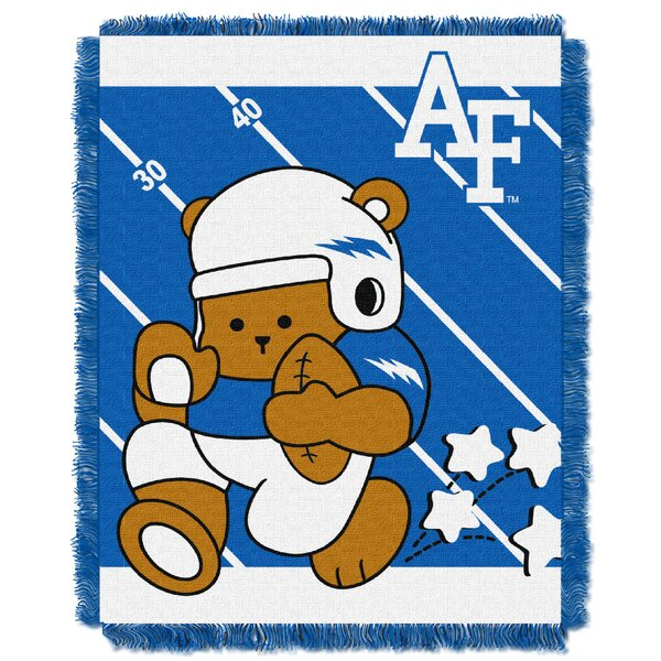 Collegiate Air Force Baby Blanket by Northwest Co.