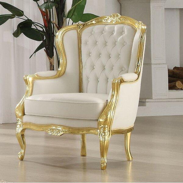Elyria Wingback Chair by Rosdorf Park