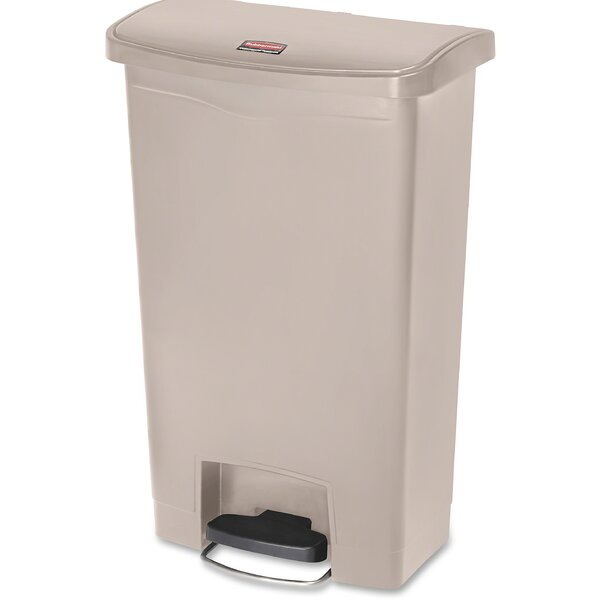 Slim Jim 13 Gallon Step-On Trash Can by Rubbermaid Commercial Products