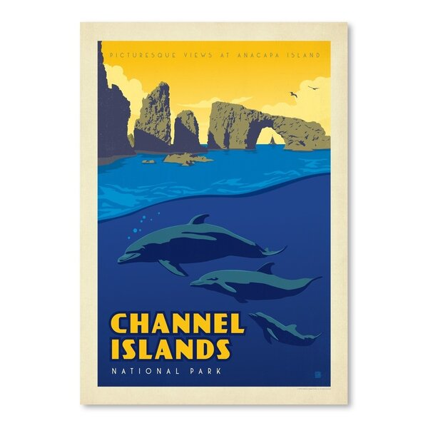 Channel Island National Park Vintage Advertisement by East Urban Home