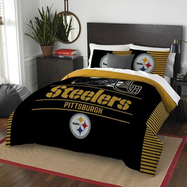 NFL Draft 3 Piece Full/Queen Comforter Set by Nort