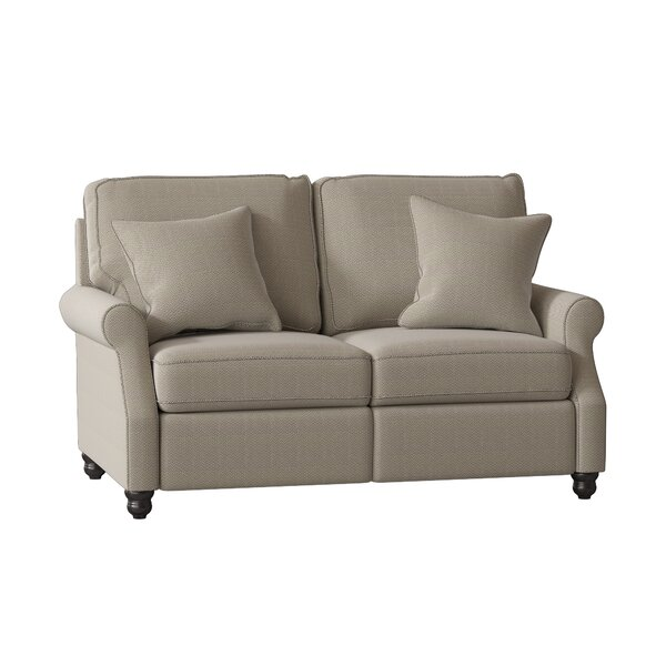 Doug Reclining Loveseat by Wayfair Custom Upholstery Wayfair Custom Upholstery™