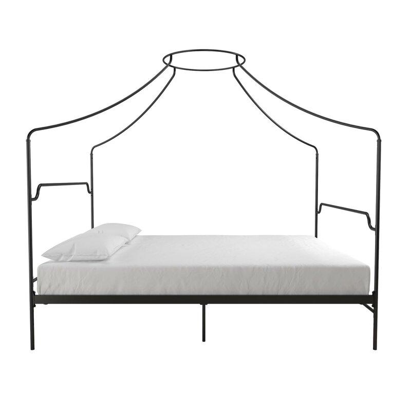 Bed Queen Size Frame Novogratz 4460039n