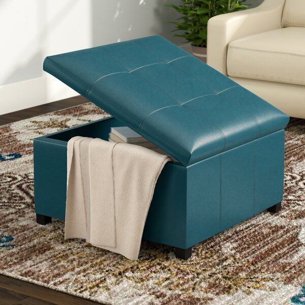 Massey Tufted Storage Ottoman by Red Barrel Studio