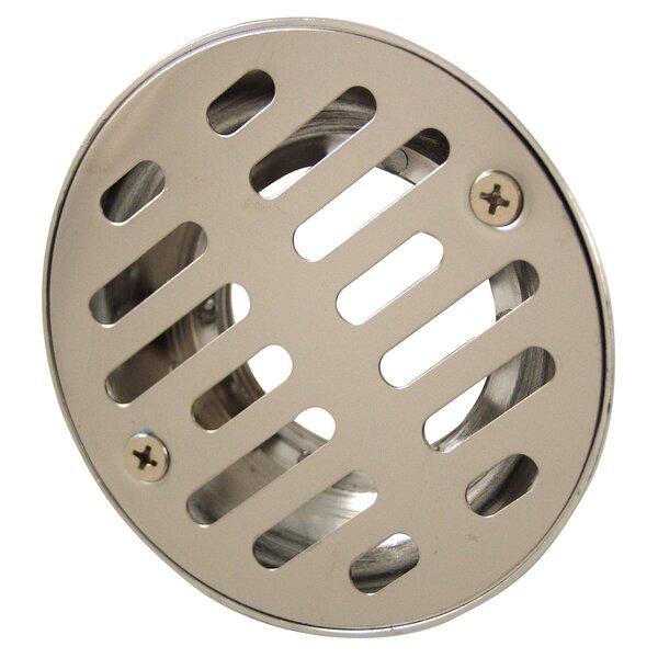 1.5 Grid Shower Drain by Waxman