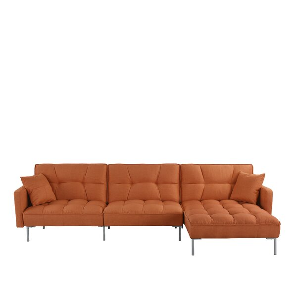 Surabaya Right Hand Facing Sleeper Sectional by Ebern Designs