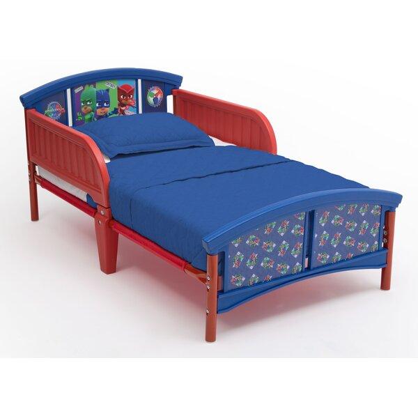 PJ Masks Plastic Toddler Platform Bed by Delta Children