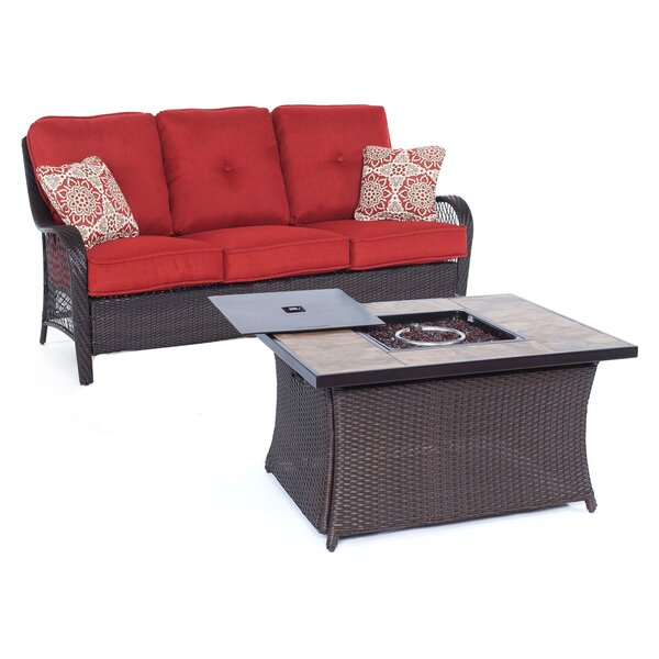 Innsbrook  2 Piece Sofa Set with Cushions by Alcott Hill