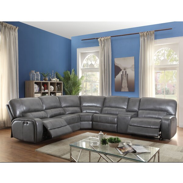 Madelia 96-inch Left Hand Facing Reclining Sectional By Latitude Run
