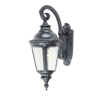 Affordable Columbus 1-Light Outdoor Wall Lantern By Yosemite Home Decor