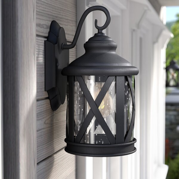 Zeigler Outdoor Wall Lantern by Three Posts