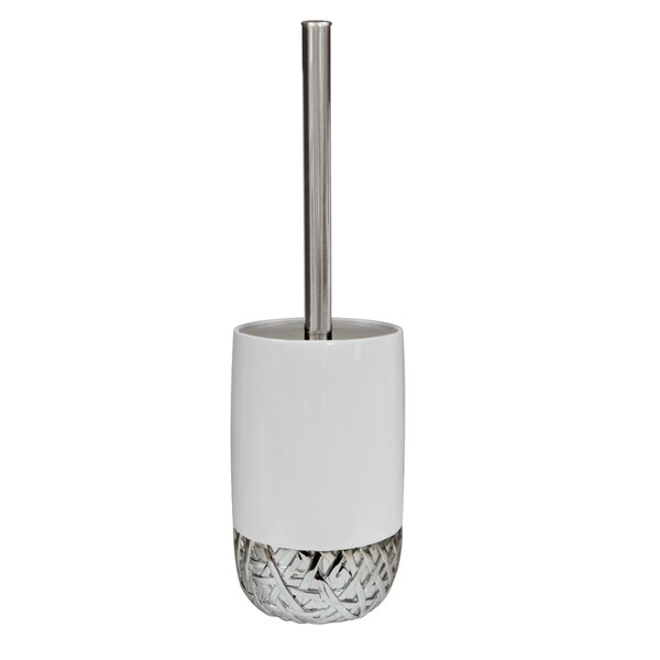 Bali Free Standing Toilet Brush and Holder by NU Steel