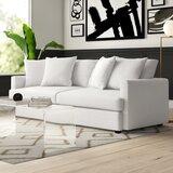 Phokas 93 Square Arm Sofa by Mercury Row