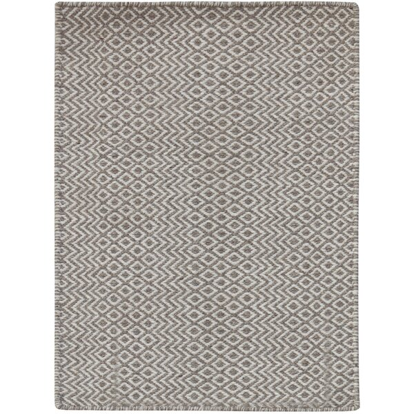 Lynnfield Hand-Tufted Beige Area Rug by Union Rustic