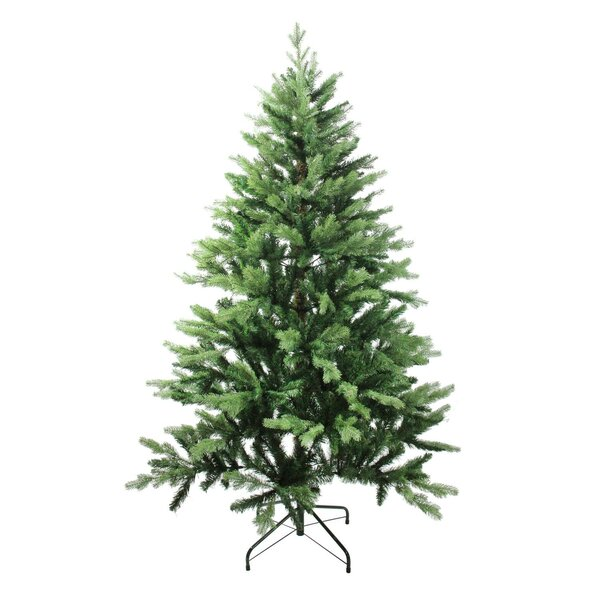 Mixed Coniferous Pine 84 Green Artificial Christmas Tree by The Holiday Aisle