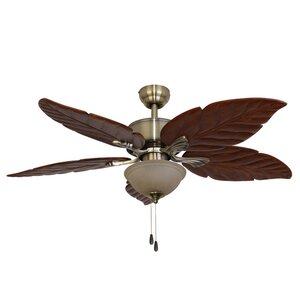 52″ St. Marks Bowl Light 5-Blade Ceiling Fan