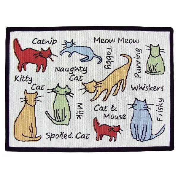 PB Paws & Co. Multi Cat Show Tapestry Area Rug by Park B Smith Ltd