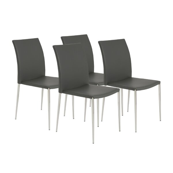 Aucoin Upholstered Dining Chair (Set Of 4) By Orren Ellis