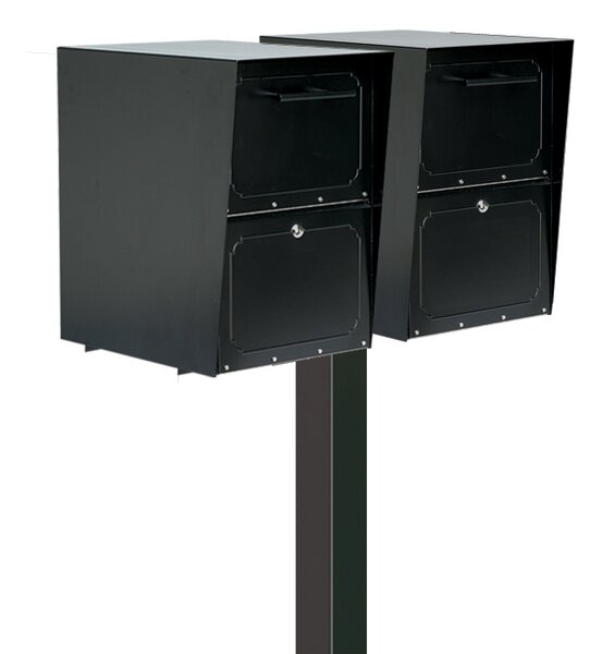 Oasis Locking Wall Mounted Mailbox by Architectural Mailboxes
