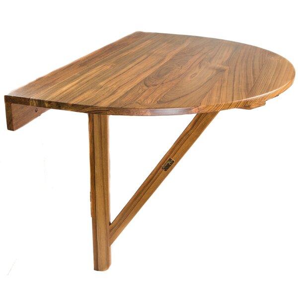 Braun Teak Balcony Table by Longshore Tides Longshore Tides
