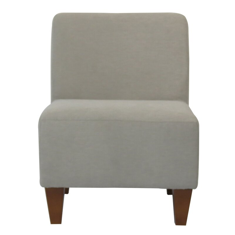 slipper chair shopify online peacock interiors with black products legs