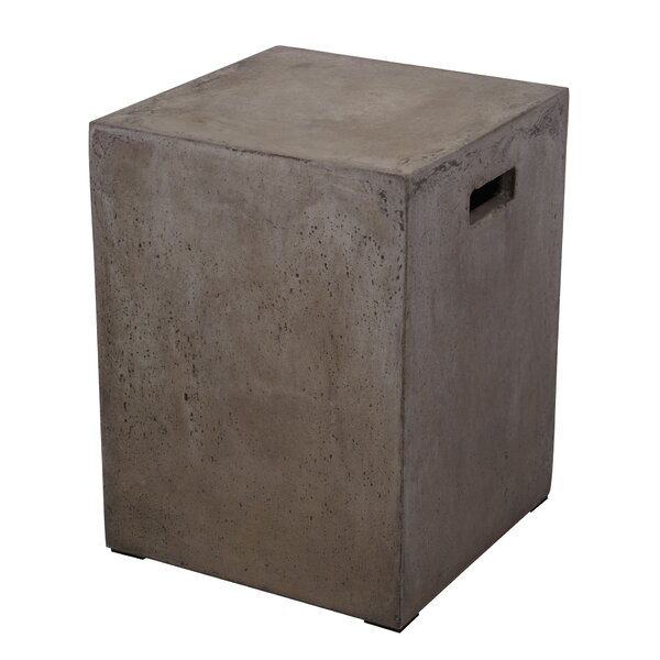 Parrsboro Concrete Stool by Trent Austin Design