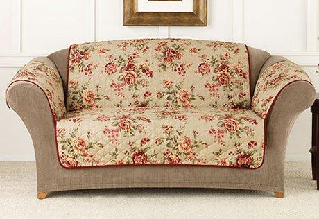 Lexington Floral Pet Sofa Pet Cover by Sure Fit