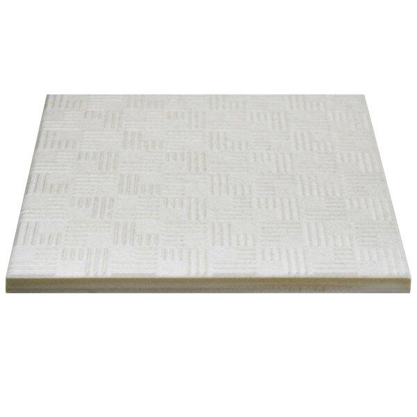 Region 6 x 6 Porcelain Field Tile in White by EliteTile
