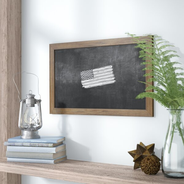 Barnwood Wall Mounted Chalkboard by Laurel Foundry