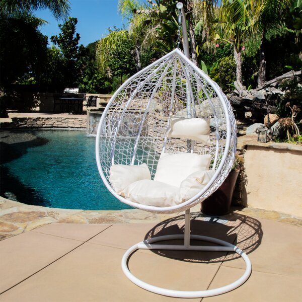 Nisbett Swing Chair with Stand by World Menagerie