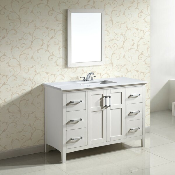 Winston 49 Single Bathroom Vanity Set by Simpli Ho